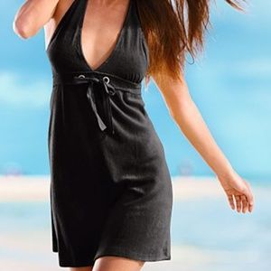 Venus Terry Halter Swim Cover up Dress